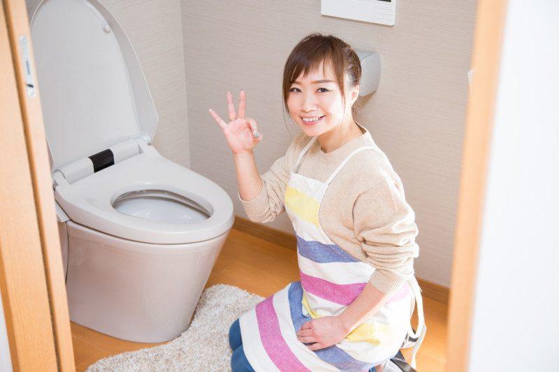 トイレのつまりを応急処置するときの注意点