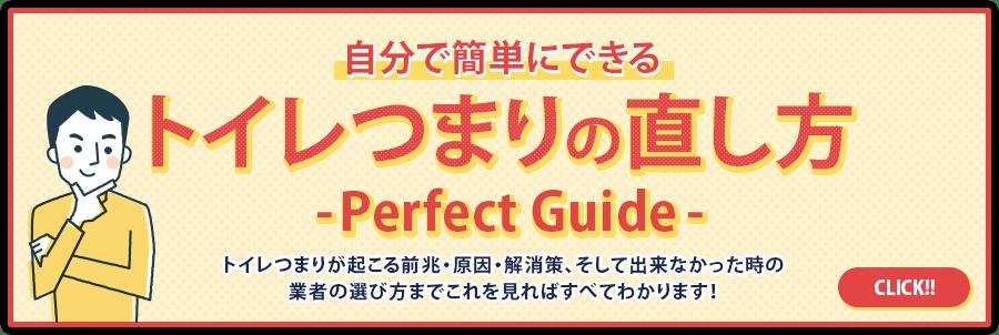 自分で簡単にできるトイレつまりの直し方-Perfect Guide-